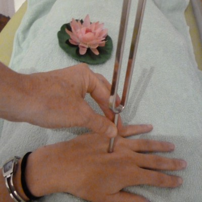 Stimmgabel-Therapie